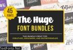 The Huge Font Bundle