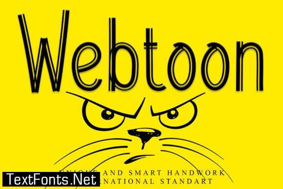 Webtoon Font