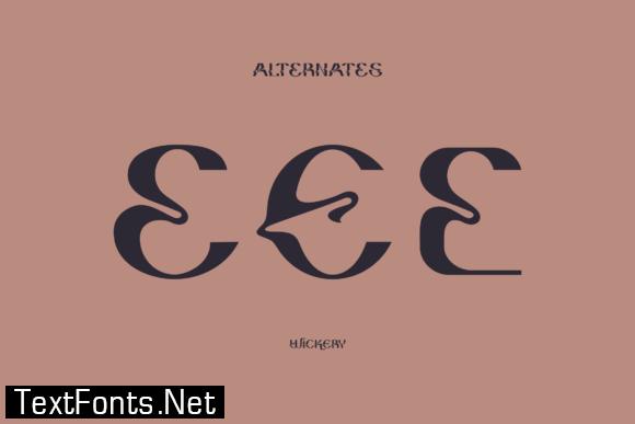 Wickery Font