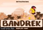 Bandrek Font