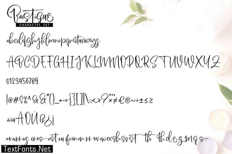 Bastique | Unique Handwriting Script Font
