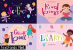 Childs Book Font