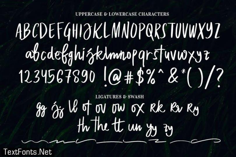 Dakota Magic Font