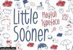 DS Little Sooner - Playful Typeface