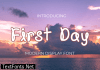 First Day Font