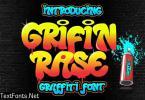 Grifin Rase - Urban Graffiti Font