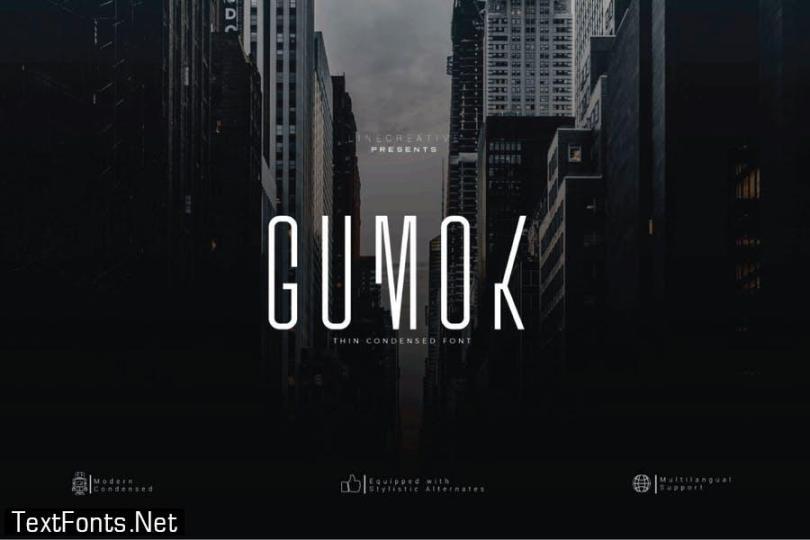 Gumok Font