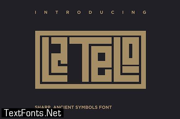 Latelo Font