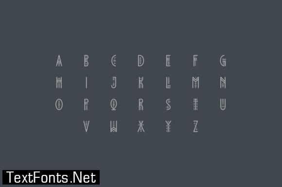 Mqpegrh Font