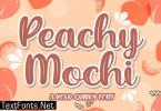 Peachy Mochi Font