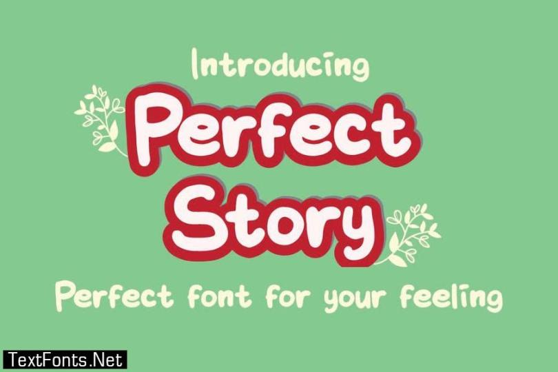 Perfect Story Font