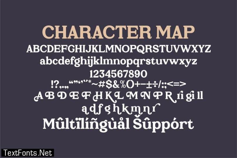 Prigille Hands Serif Font LS