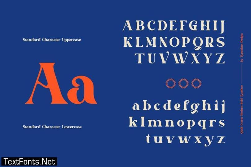 Qink Cverto Font