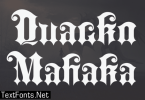 Quacko Mahaka Font