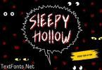 Sleepy Hollow Font