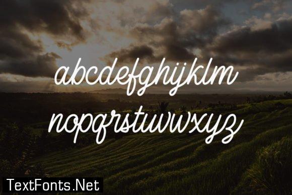 Title Canggu Font