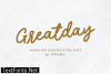 Title Greatday Font