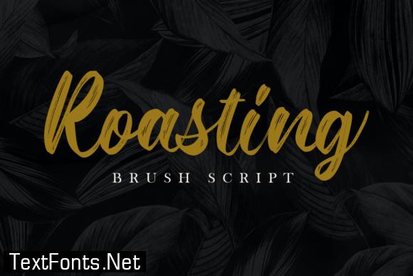 Title Roasting Font