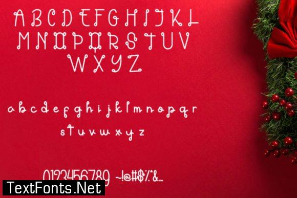 Title Themarie Font