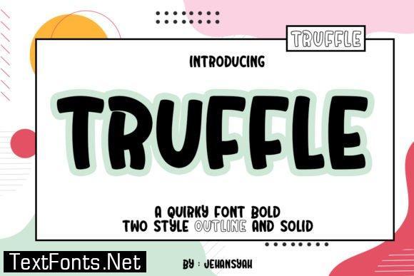 Title Truffle Font
