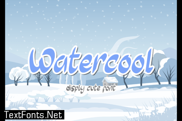 Watercool Font