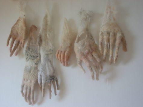 zes handen klaar voor HULDE.