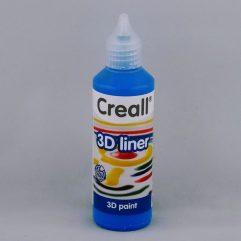 Textielverf en meer Creall 3D liner 07 blauw 80ml