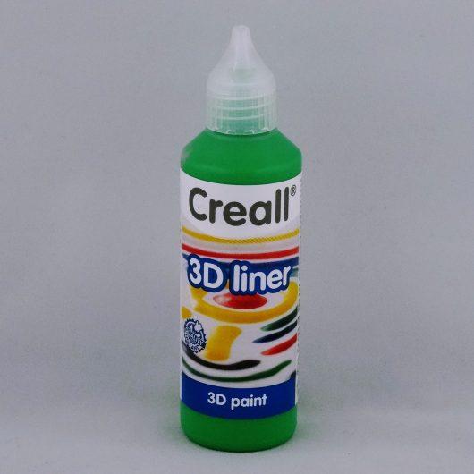 Textielverf en meer Creall 3D liner 09 groen 80ml