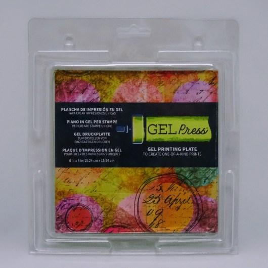"""Textielverf en meer Gel Press 6x6"""""""
