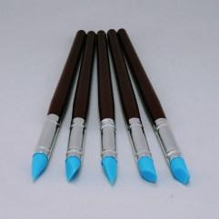Textielverf en meer shapers rubber penselen