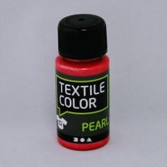 Textielverf en meer Textile Color Pearl rood 50ml