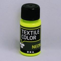 Textielverf en meer Textile Color Neon geel 50ml