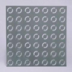 Textielverf en meer stencil 15x15cm ringen