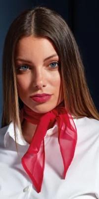 foulard soie cou