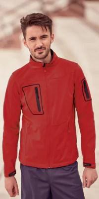 veste softshell homme poche