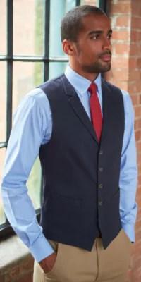 gilet chemise cravate