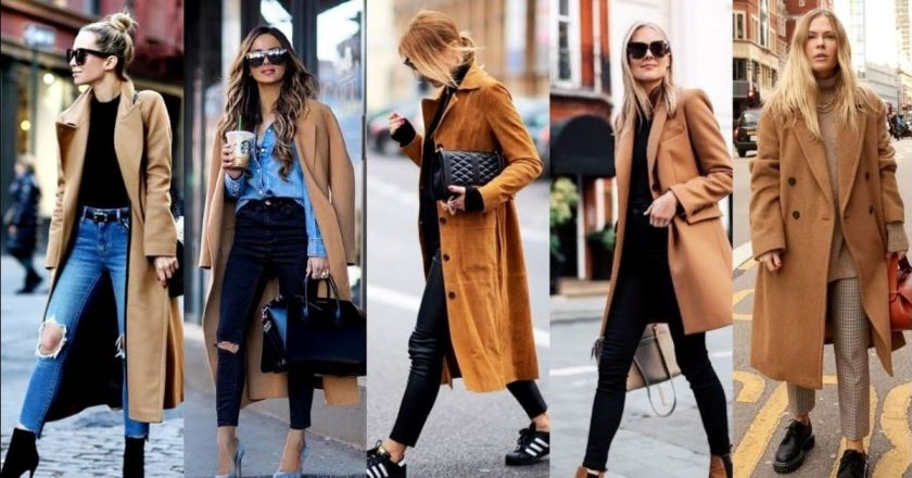 Yellow and camel color style