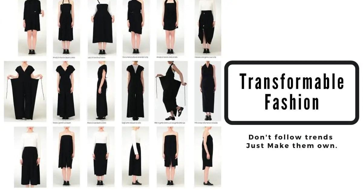 Transformable Fashion