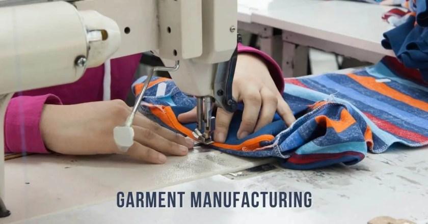 Garment Manufacturing Process