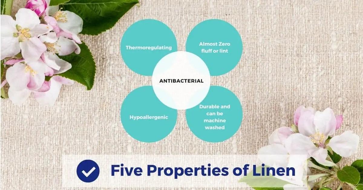 Five Properties of Linen
