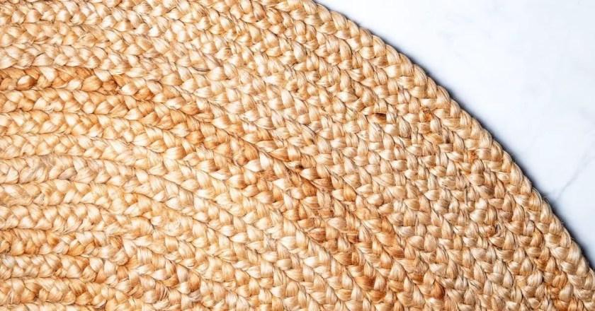 Jute made rug