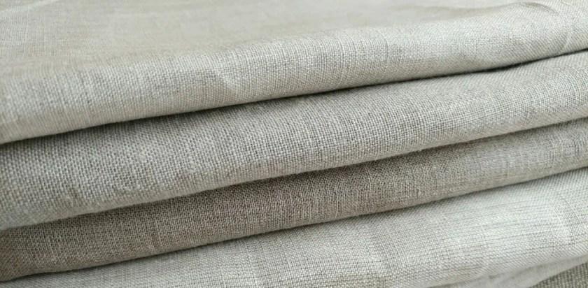 Lint free linen fabric