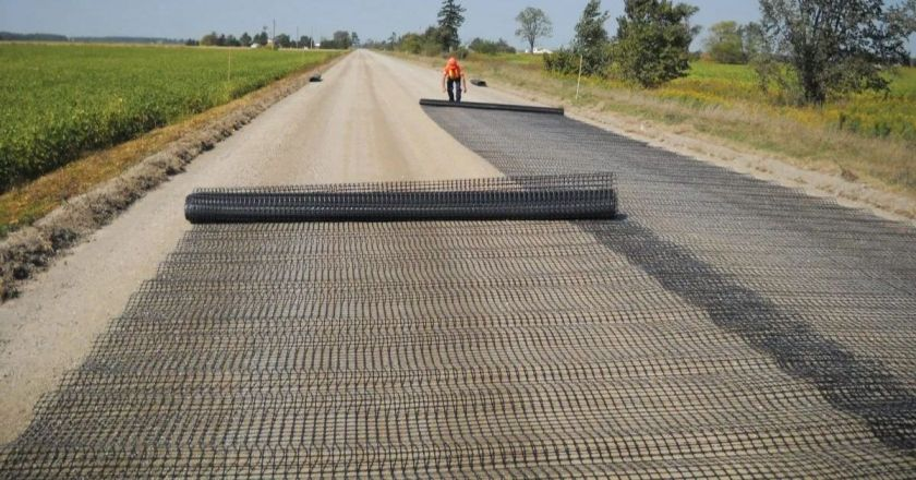 Woven Geotextile Fabric Applications on Road Construction
