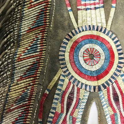 Red River Metis Quilled Crupper, National Museum of the American Indian (185498.000)