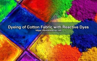 dyeing cotton with reactive dyes