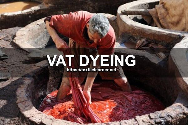 vat dyeing