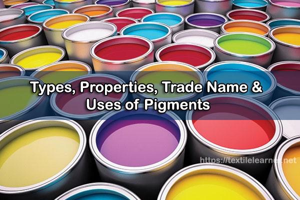 types of pigment