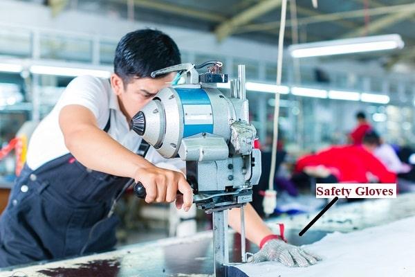 cutting machine safety gloves