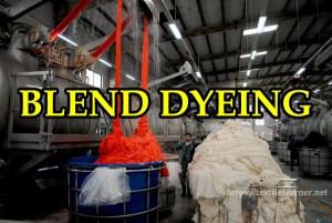 blend dyeing