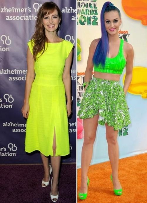 Neon Colour Fashion Trend